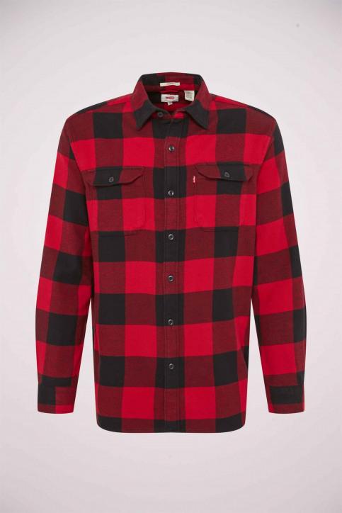 Levi's® Chemises (manches longues) rouge 195730096_0096 BANDURRIA img5