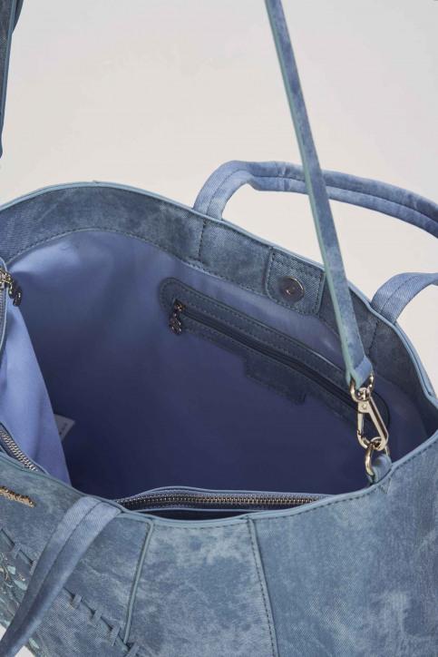 Desigual Handtassen blauw 19SAXPFT_AZUL PALO img3