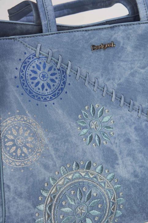 Desigual Handtassen blauw 19SAXPFT_AZUL PALO img4