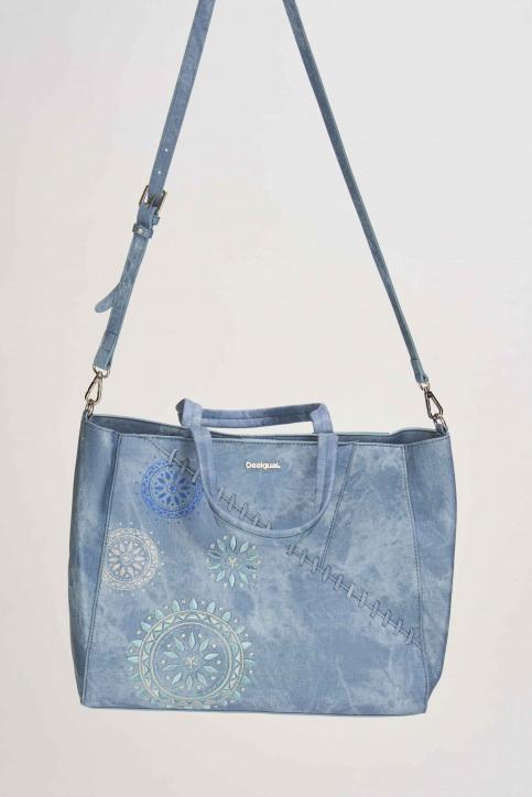 Desigual Handtassen blauw 19SAXPFT_AZUL PALO img5