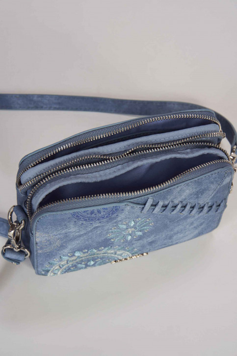 Desigual Handtassen blauw 19SAXPFU_AZUL PALO img2