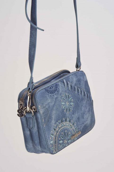 Desigual Handtassen blauw 19SAXPFU_AZUL PALO img4