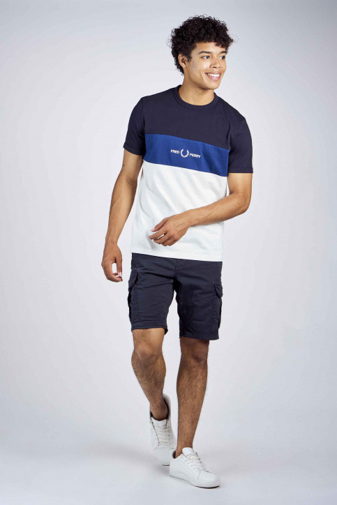 Fred Perry T-shirts (manches courtes) bleu 2002M8624_608 NAVY img2