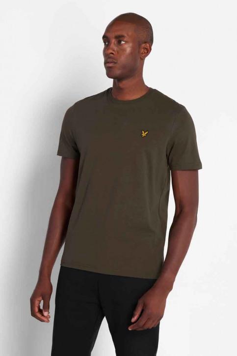 LYLE SCOTT T-shirts (manches courtes) vert 2002TS400V_W123 TRK GREE img1