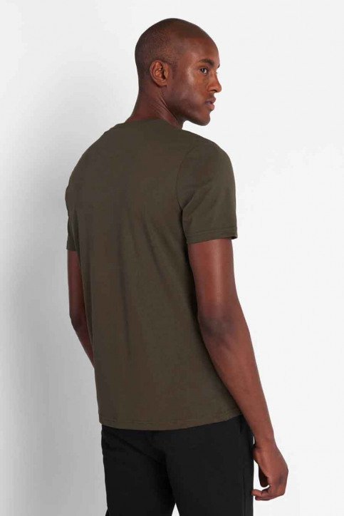 LYLE SCOTT T-shirts (manches courtes) vert 2002TS400V_W123 TRK GREE img2