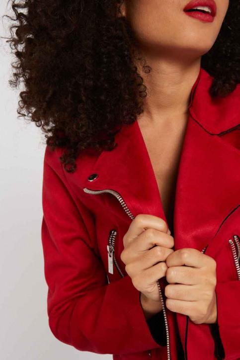 Morgan de Toi Vestes courtes rouge 201GRAMMYN_CHERRY img3
