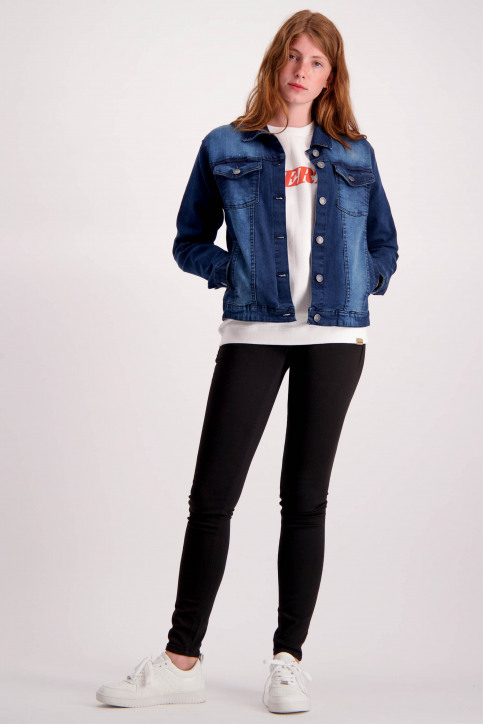 BlendShe Vestes denim denim 20202552_29044 DARK BLUE img2