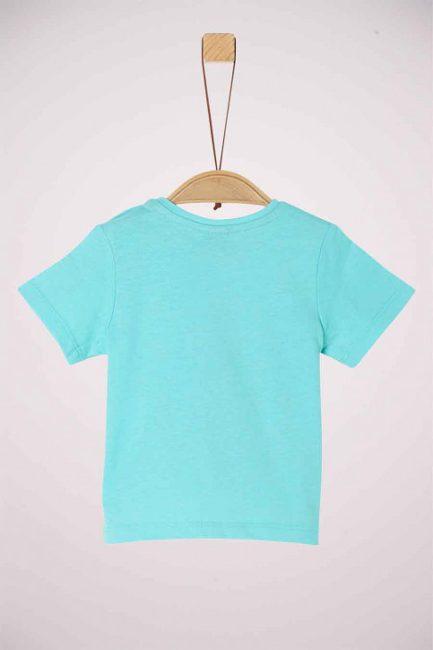 S. Oliver T-shirts manches courtes 2037260_6224 TURQUOISE img2