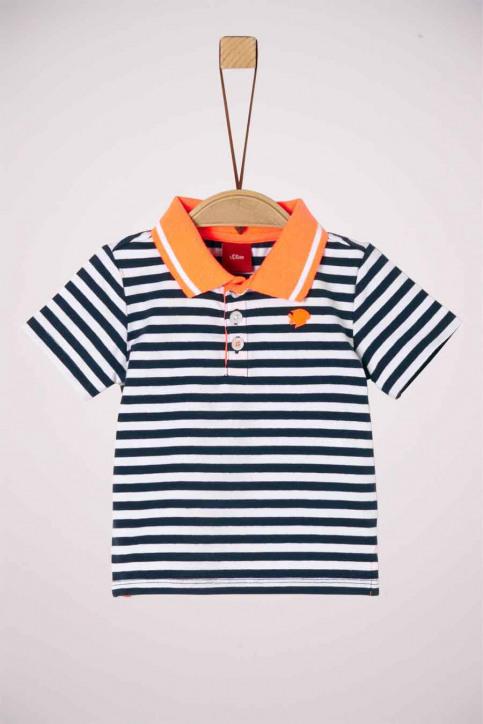 S. Oliver T-shirts manches courtes bleu 2037275_57G5 BLUE STRIP img1