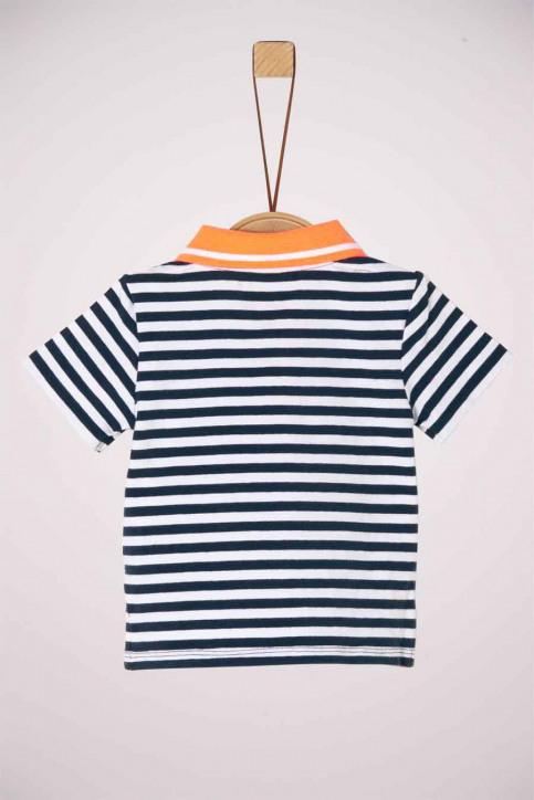 S. Oliver T-shirts manches courtes bleu 2037275_57G5 BLUE STRIP img2