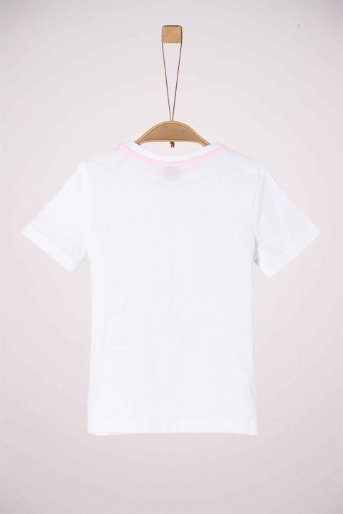 S. Oliver T-shirts met korte mouwen wit 2038053_0100 WHITE img2