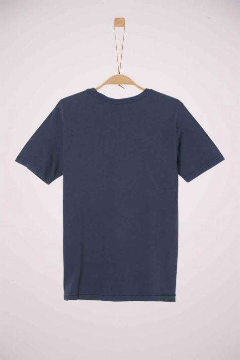 S. Oliver T-shirts met korte mouwen blauw 2038355_5798 DARK BLUE img2