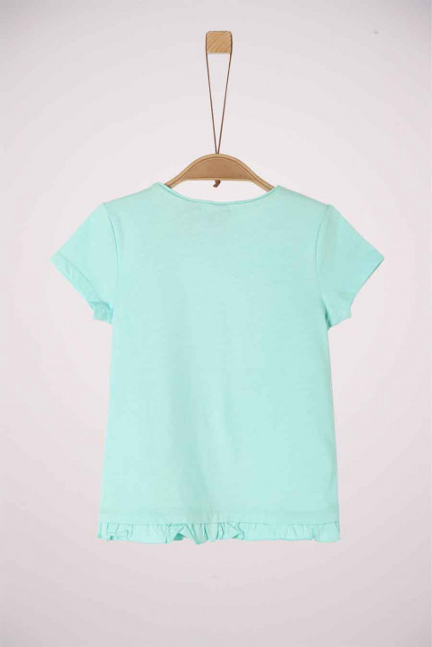 S. Oliver T-shirts manches courtes turquoise 2038508_6006 LIGHT MINT img2
