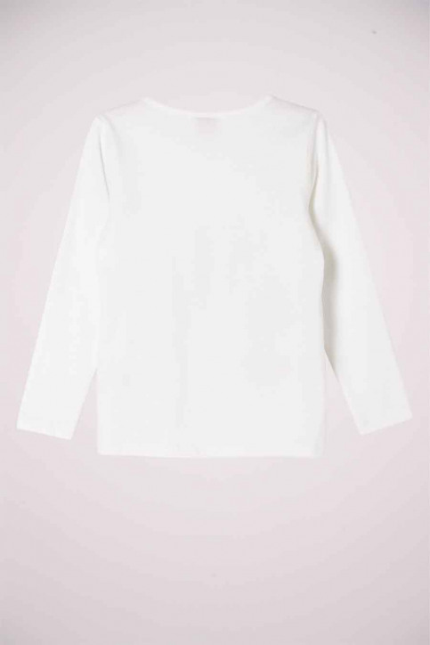 S. Oliver T-shirts manches longues blanc 2041125_0210 OFF WHITE img3