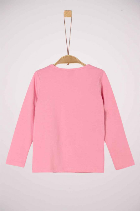S. Oliver T-shirts manches longues rose 2041125_4326 LIGHT PINK img2