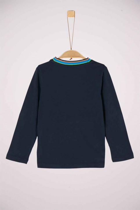 S. Oliver T-shirts manches longues 2041837_5952 DARK BLUE img2
