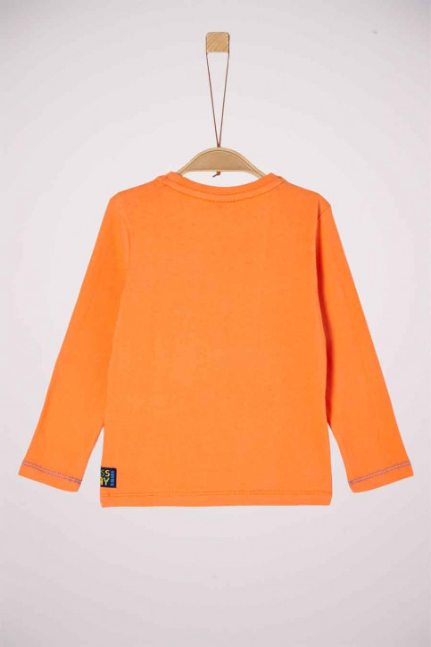 S. Oliver T-shirts manches longues orange 2041855_2312 LIGHT ORAN img2