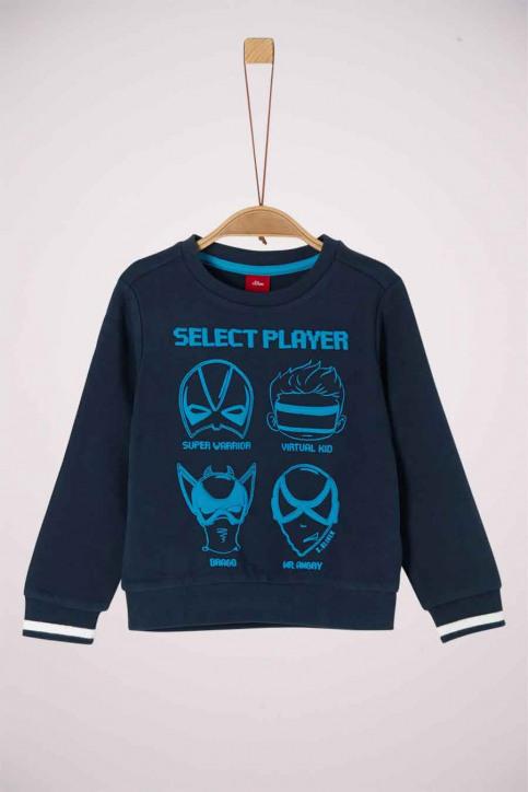 S. Oliver Sweaters met O-hals 2041867_5952 DARK BLUE img1