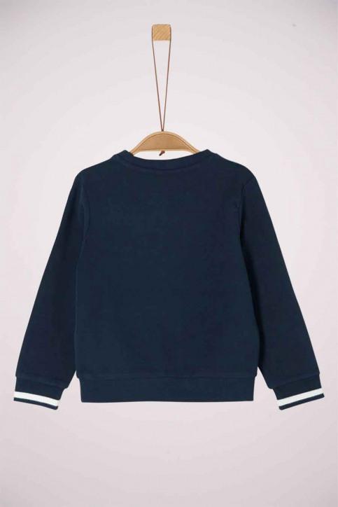 S. Oliver Sweaters met O-hals 2041867_5952 DARK BLUE img2