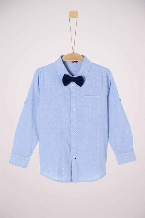 S. Oliver Hemden met lange mouwen blauw 2042145_53N4 LIGHT BLUE img1
