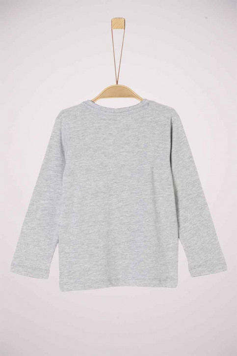 S. Oliver T-shirts manches longues gris 2042841_9400 GREY img2