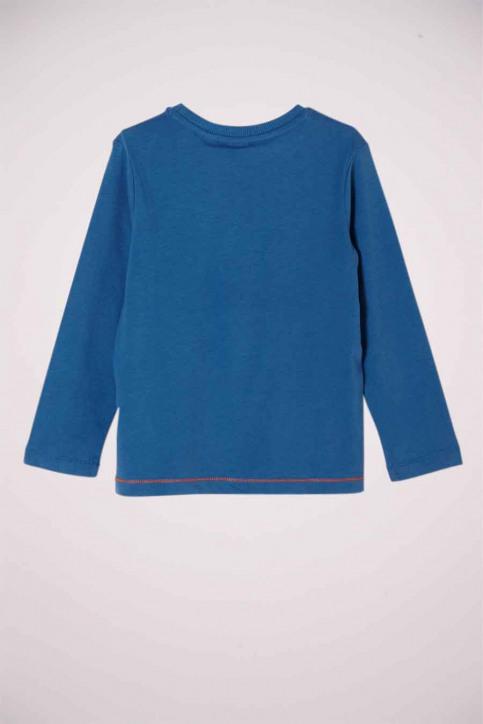 S. Oliver T-shirts manches longues bleu 2051355_5435 BLUE img2