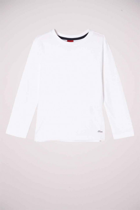 S. Oliver T-shirts manches longues blanc 2052212_0100 WHITE img1