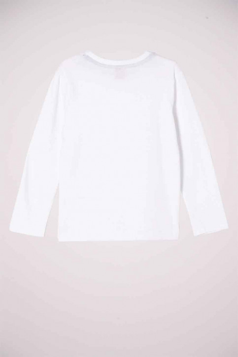 S. Oliver T-shirts manches longues blanc 2052212_0100 WHITE img2