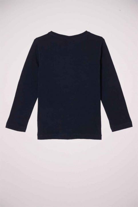S. Oliver T-shirts manches longues bleu 2058284_5952 DARK BLUE img2