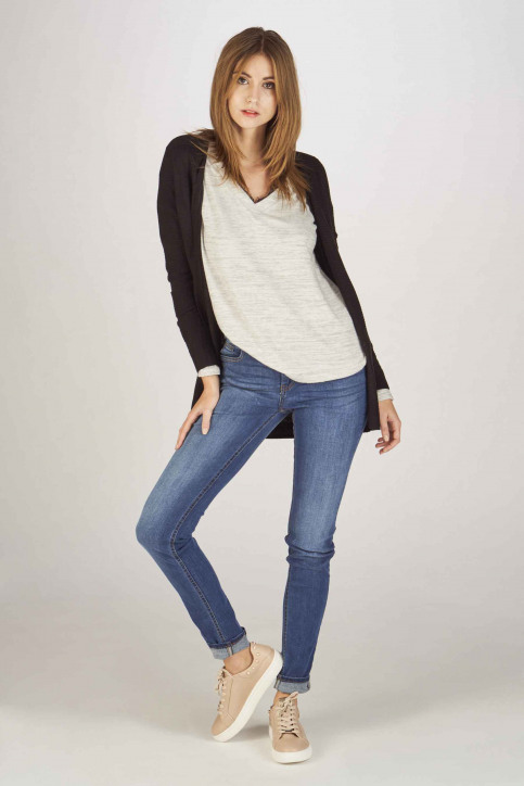 Fransa Jeans skinny bleu 20603793_68826METRO BLU img2
