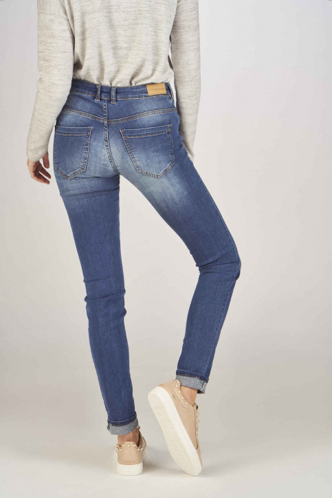 Fransa Jeans skinny bleu 20603793_68826METRO BLU img3