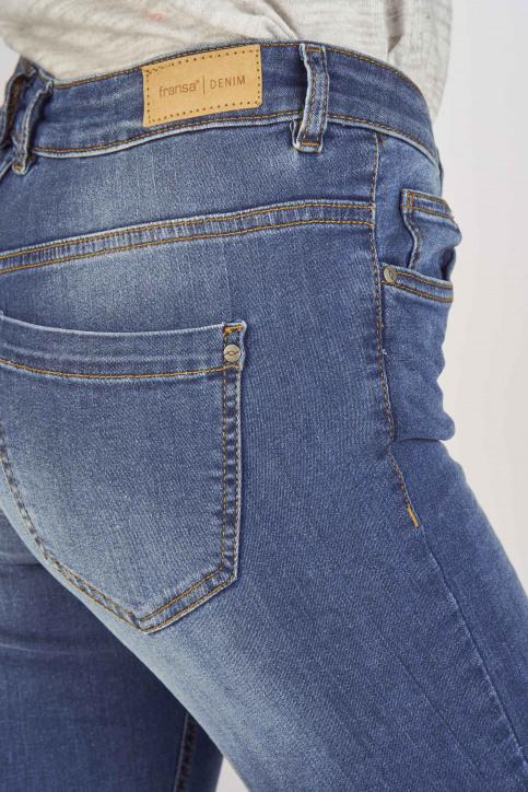 Fransa Jeans skinny bleu 20603793_68826METRO BLU img5