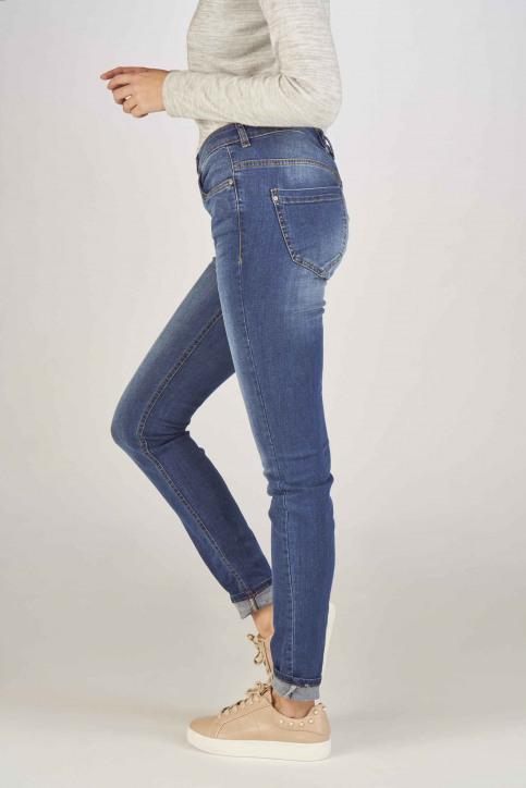 Fransa Jeans skinny bleu 20603793_68826METRO BLU img6