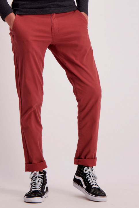 Shine Original Chino's bordeaux 206044_LT BORDEAUX img1