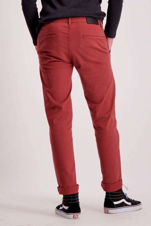 Shine Original Chino's bordeaux 206044_LT BORDEAUX img3