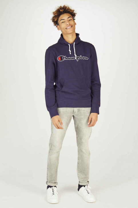 Champion Sweaters met kap blauw 212940BS536ECL_BS536 ECL img2