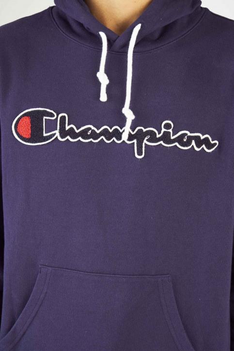 Champion Sweaters met kap blauw 212940BS536ECL_BS536 ECL img4