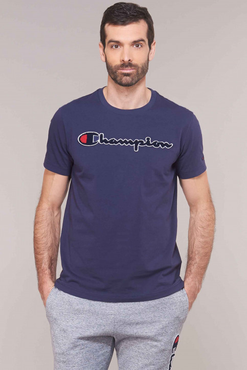 Champion T-shirts (korte mouwen) blauw 212946BS536ECL_BS536 ECL img1
