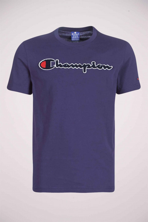 Champion T-shirts (korte mouwen) blauw 212946BS536ECL_BS536 ECL img3