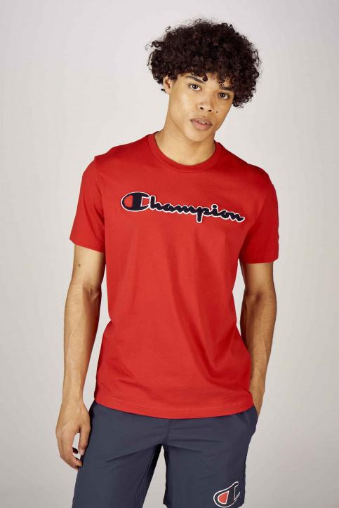 Champion T-shirts (korte mouwen) rood 212946RS010RIR_RS010 RIR img1