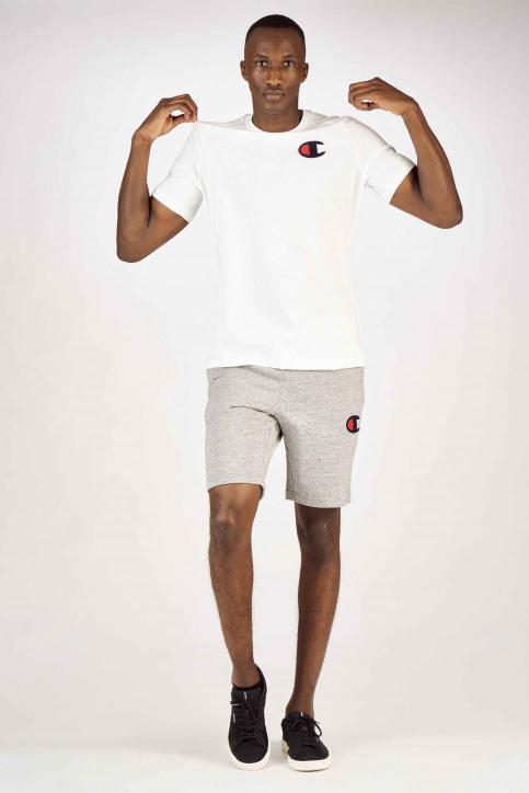 Champion T-shirts (korte mouwen) wit 213198WW001WHI_WW001 WHT img2