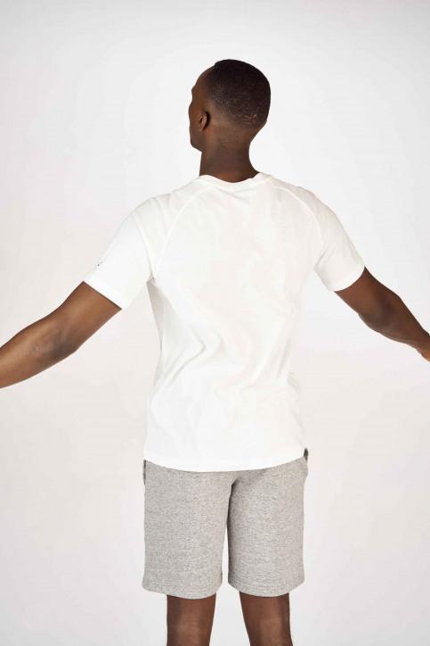 Champion T-shirts (korte mouwen) wit 213198WW001WHI_WW001 WHT img3