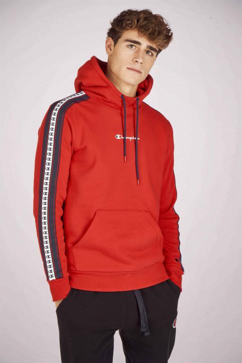 Champion Sweats avec capuchon rouge 213456_RS053 HTR img1
