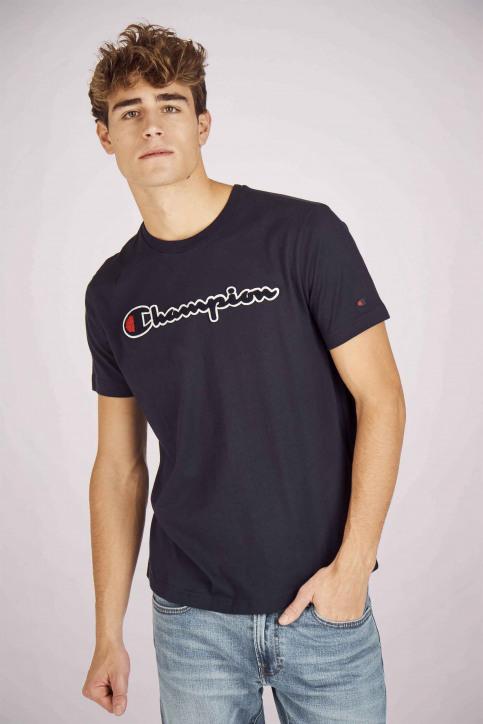 Champion T-shirts (manches courtes) bleu 213521_BS505 NIGHT img1