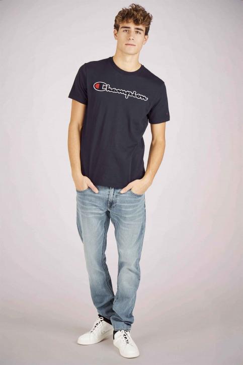 Champion T-shirts (manches courtes) bleu 213521_BS505 NIGHT img2