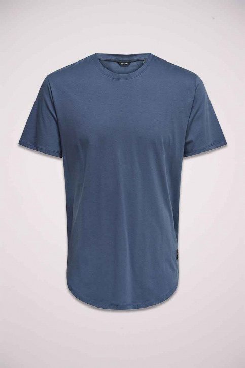ONLY & SONS T-shirts (manches courtes) gris 22002973_GRISAILLE img1