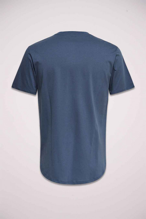 ONLY & SONS T-shirts (manches courtes) gris 22002973_GRISAILLE img2