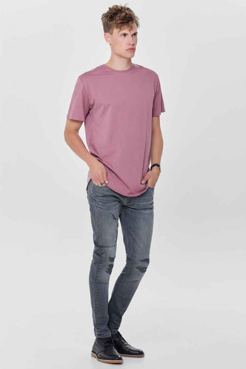 ONLY & SONS Jeans tapered denim 22010440_0440GREY REPAI img2