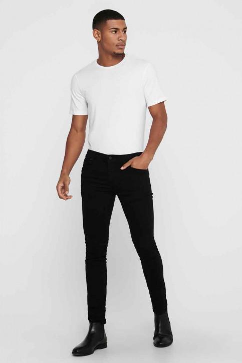 ONLY & SONS Jeans slim zwart 22010448_BLACK DENIM img2