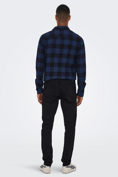 ONLY & SONS Jeans slim zwart 22010448_BLACK DENIM img3